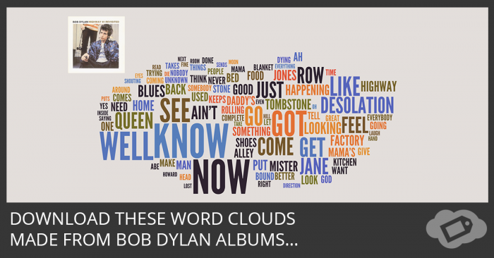 Bob Dylan Word Clouds