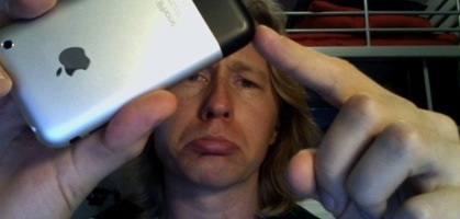My First iPhone Battle Scar!