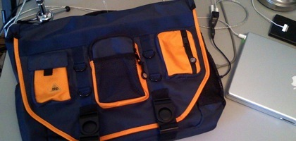 My New BBP Hybrid Messenger/Backpack