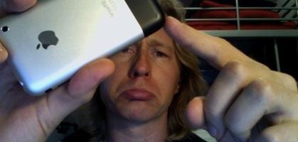 iPhone Battle Scar