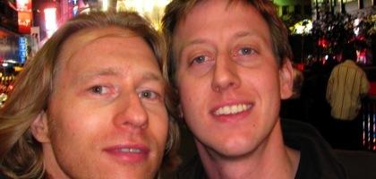Graham and Brian